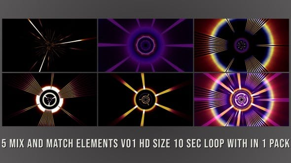 Cover Image for Mix and Match Elements Pack V01
