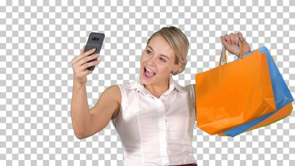 Thumbnail for Sale consumerism, technology and people, Alpha Channel