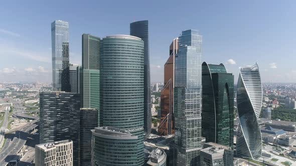 Cover Image for Moscow City Skyscrapers