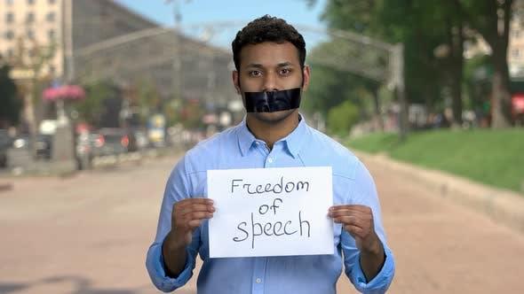 Freedom of Speech Concept