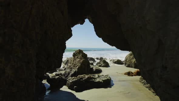 Thumbnail for El Matador State Beach with a sea cave