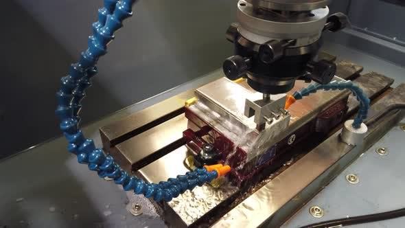 Thumbnail for Precision Cutting of Metal Parts.