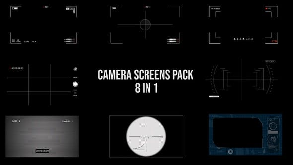 Thumbnail for Camera Screen Pack - 8 in 1