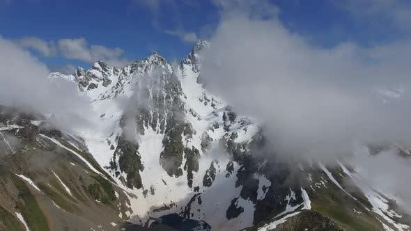 Lake in Mountain Mass