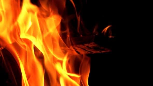 Thumbnail for Burning Wood