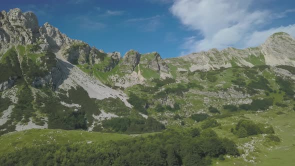 Thumbnail for Aerial View on Bobotov Kuk Near the Durmitor Park, Montenegro