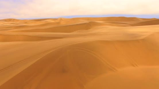 Thumbnail for Aerial  Shot of the World's Largest Sand Dunes of the Sossusvlei Area