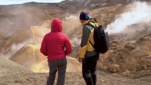 Thumbnail for Hot Spring in Kerlingarfjoll Geotermal Area