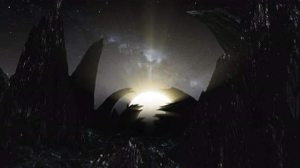 Thumbnail for Flying On Mountain 02 4K