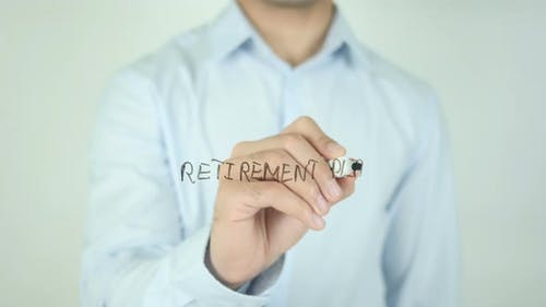 Retirement Plan, Writing On Screen