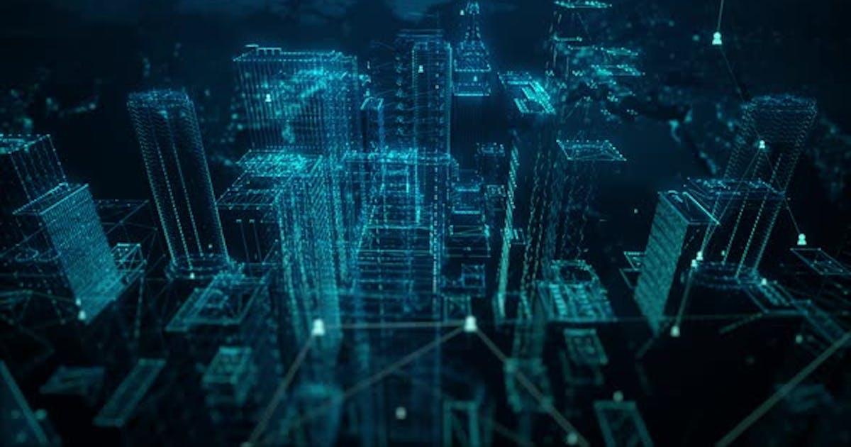 Digital City Connect People 4K