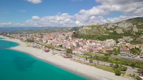 Roccella Jonica city in Calabria