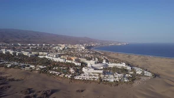 Aerial View of Maspalomas Resort, Gran Canaria