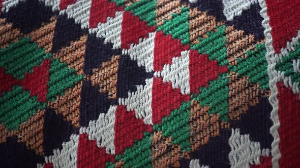 Thumbnail for Multicolor Knitted Fabric Slider Shot
