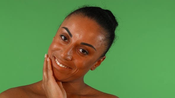 Thumbnail for Beautiful Mature African Woman Smiling To the Camera