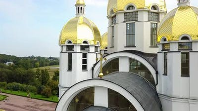 Zarvanytsia Spiritual Center of the Greek Catholic Church in Ternopil Region Ukraine