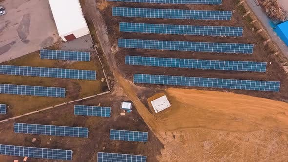 Photovoltaic plant field