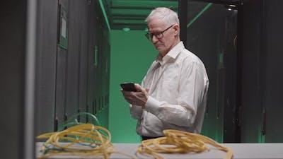 Senior Manager in Server Room