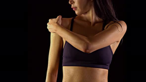 Thumbnail for Fit Woman Sore After Working Out