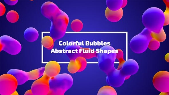 Thumbnail for Colorful Bubbles - Abstract Fluid Shapes