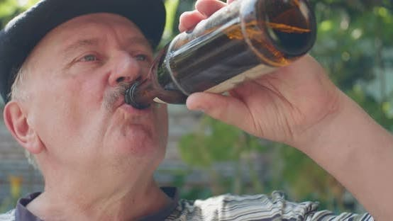 Thumbnail for Old Man Drinking Beer