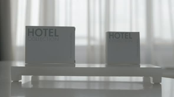 Hotel hygiene set of five items