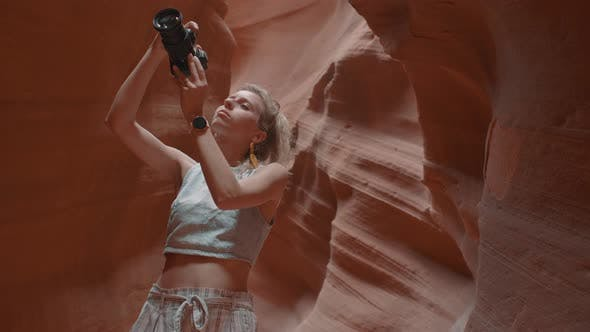 Thumbnail for Photographer In The Canyon