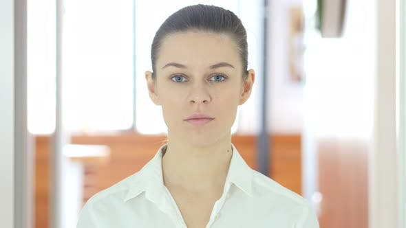 Portrait of Woman, Indoor