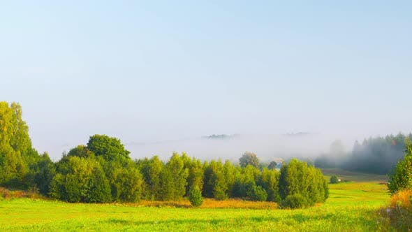 Thumbnail for Morning mist in the valley