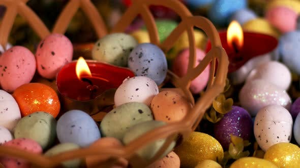 Thumbnail for Colorful Traditional Celebration Easter Paschal Eggs 26