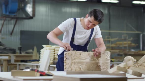 Thumbnail for Young Carpenter Working