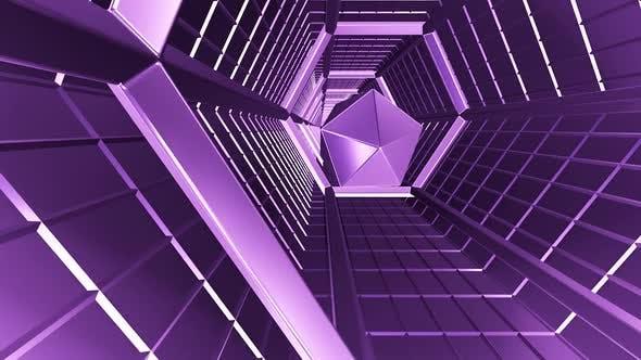 Tunnel Lilac Metal  HD