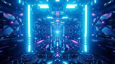 Sci Fi  Light Corridor
