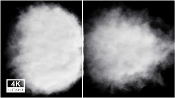 Cloudy Smoke 4K