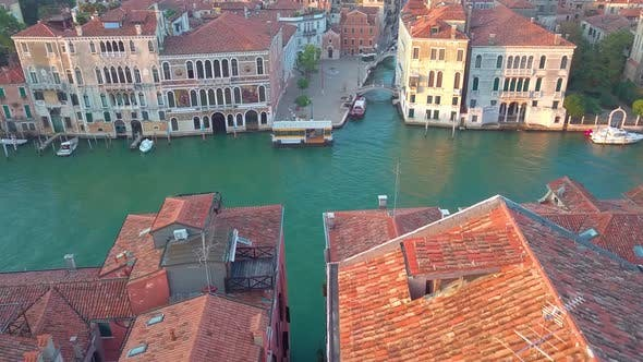 Thumbnail for Drone Video - Aerial View of Venice Italy