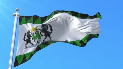 Emmen Flag, Drenthe, Netherlands