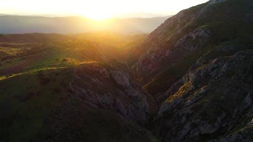 Turkey Sunrise Canyon