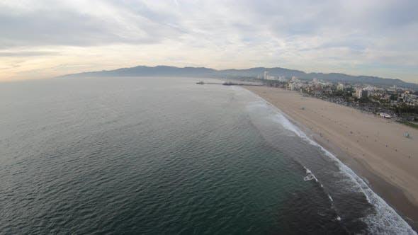 Thumbnail for Santa Monica California Luftaufnahme