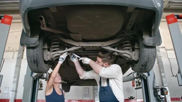 Thumbnail for Repairing Car Bottom