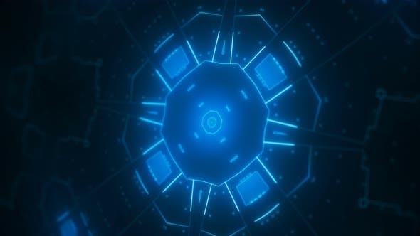 Thumbnail for VJ Fractal Kaleidoscope Background,