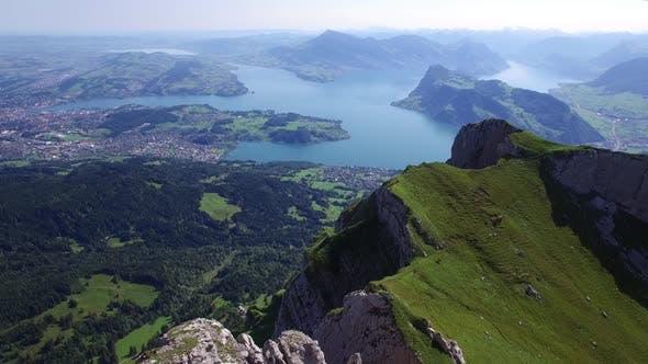 Thumbnail for Mountain Landscape in Summer Season