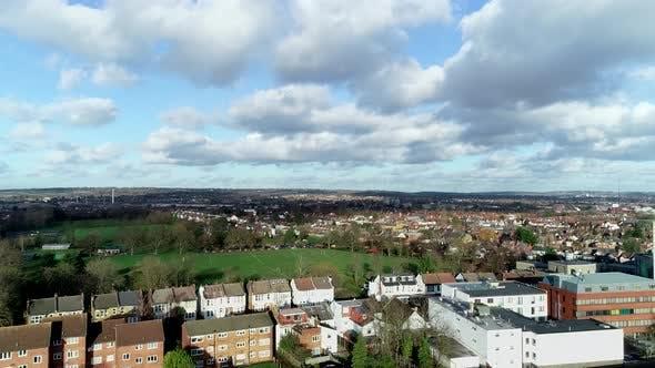 Aerial London Neighborhood