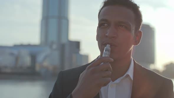 Thumbnail for Smoking Electronic Cigarette