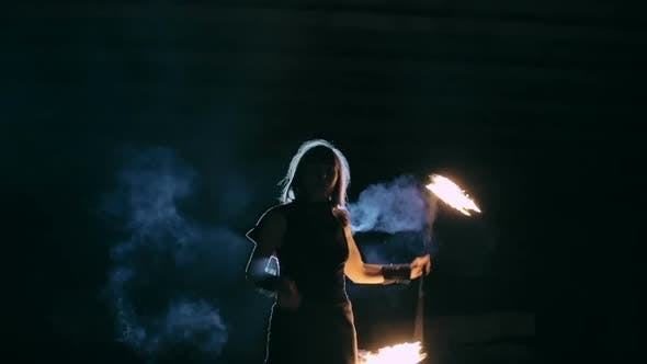 Ethereal Dance with Flame