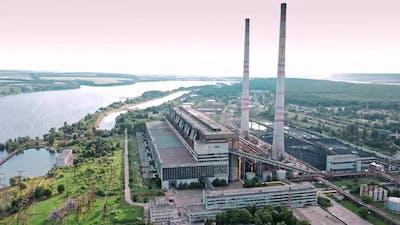 Industrial Power Plant Energy