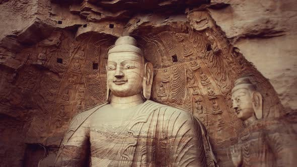 Thumbnail for Buddha Stone Carving of Yungang Grottoes