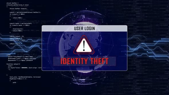 IDENTITY THEFT Text, User Login