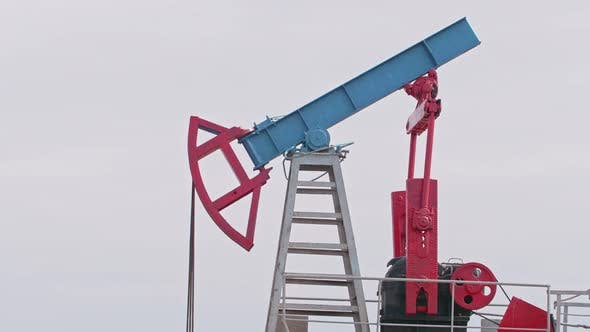 Thumbnail for Oil Drilling Rig Extraction of Oil and Pump Jack Is Industry Equipment Loop Ready Seamless