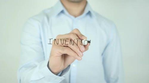 Erfindung, Schreiben auf dem Bildschirm