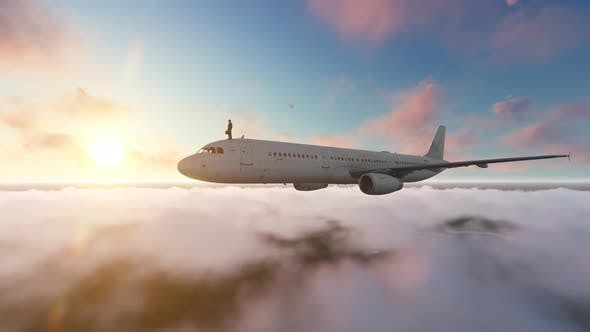 Thumbnail for Businessman on Aircraft